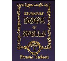 Standard Book Of Spells Photographic Print