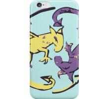 Spiraling Dragons iPhone Case/Skin
