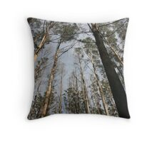 """Murrindindi #1 – """"A Dedication to the Victims of the Black Saturday Bush Fires"""" Throw Pillow"""