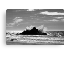 The Power Of The Sea Canvas Print