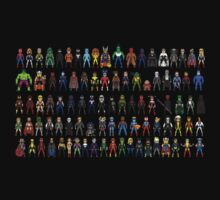 Heroes all Together Kids Clothes