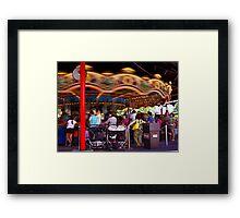 The Carousel-Hershey Park, PA Framed Print