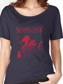 Sherlock - A scandal in Middle Earth (red) Women's Relaxed Fit T-Shirt