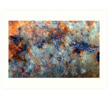 Ocean Oil Spill Abstract Art Print