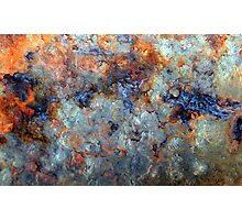 Ocean Oil Spill Abstract Photographic Print