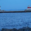 Light house by Grandmas Resturant ~ DULUTH MN by kodakcameragirl