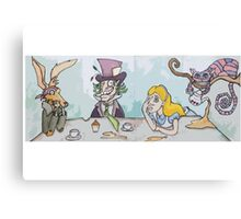 Mad Hatters Tea Party Canvas Print