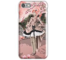 Flamingo Fairy - Pink Moon iPhone Case/Skin