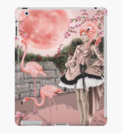 Flamingo Fairy - Pink Moon iPad Case/Skin