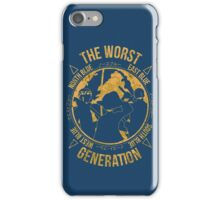 One Piece - The Worst Generation iPhone Case/Skin