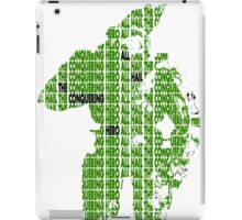 Halo Master Chief - All Hail  iPad Case/Skin