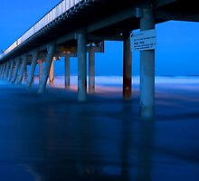 Southport Spit Sand Pumping Jetty  by Nickie