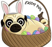 Easter Pug by AnMGoug
