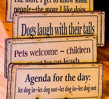 Signs For Dog Lover's by Robert Kelch, M.D.