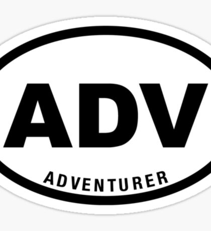 ADV - Adventurer  Sticker
