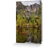 Yosemite Reflections Greeting Card