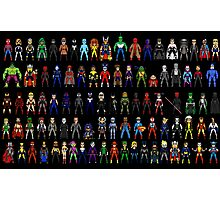 Heroes all Together Photographic Print