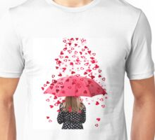 A Woman Showered with Love  Unisex T-Shirt