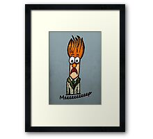 Meeeeeeeeep Framed Print