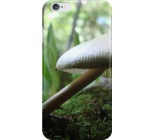 Craning Her Neck Mushroom iPhone Case/Skin