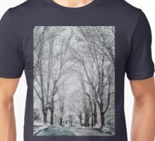 Snow. Brookline MA Unisex T-Shirt
