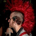 Red Mohawk 2 by Melynda