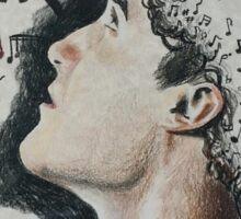 Darren Criss Portrait Sticker