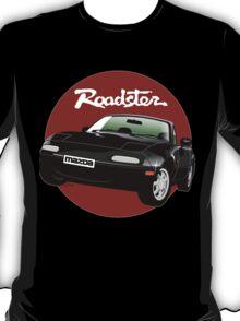 Mazda MX-5/Miata NA black T-Shirt