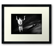 let me tell you about the one that got away Framed Print