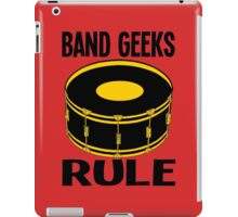 BAND GEEKS RULE iPad Case/Skin