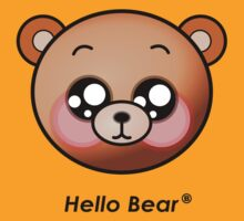 Hello Bear T-Shirt by sgame