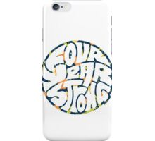 Four Year Strong Floral 1 iPhone Case/Skin
