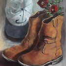 The Boots Daddy Died In by Randy  Burns