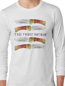 Talon of the Hawk - The Front Bottoms  Long Sleeve T-Shirt