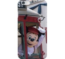 Red Car Trolley Mickey iPhone Case/Skin