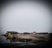 Red Kayak by Shaynelee