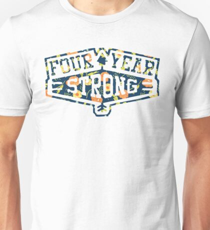 Four Year Strong logo 1 Unisex T-Shirt