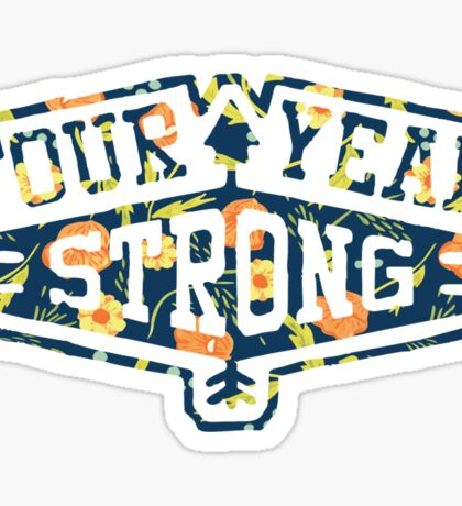 Four Year Strong logo 1 Sticker