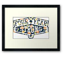 Four Year Strong logo 1 Framed Print