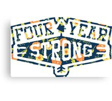 Four Year Strong logo 1 Canvas Print