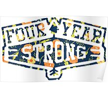 Four Year Strong logo 1 Poster