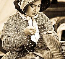 Civil War Seamstress by Matthew Boggs
