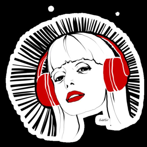 Headphone Heaven by GretelGirl