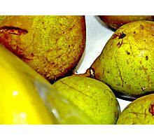 Pears Of Green Photographic Print