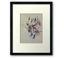 Little degu Framed Print