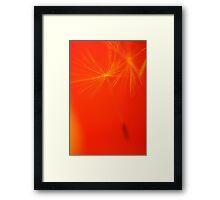 Blown Away Framed Print