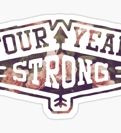 Four Year Strong logo 2 Sticker
