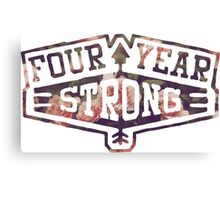 Four Year Strong logo 2 Canvas Print