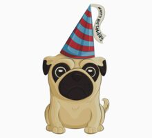 Birthday Pug 1 Kids Clothes