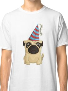 Birthday Pug 1 Classic T-Shirt